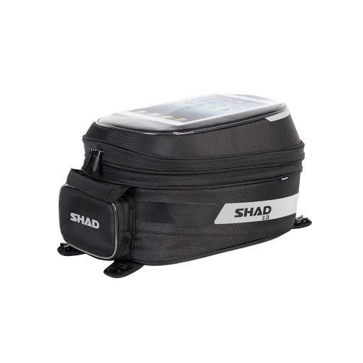 SHAD SL35B BORSA SERBATOIO BIG TANK BAG EXPANDABLE BASE ESPANDIBILE 21/31 L