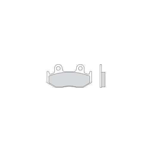 1 COPPIA PASTIGLIE FRENO ANTERIORE ORGANICHE BCR HONDA SH 125 ABS 125 2013 2018