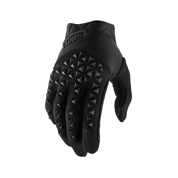 GUANTI 100% AIRMATIC YOUTH BLACK CHARCOAL M