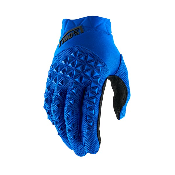 GUANTI 100% AIRMATIC BLUE BLACK XXL