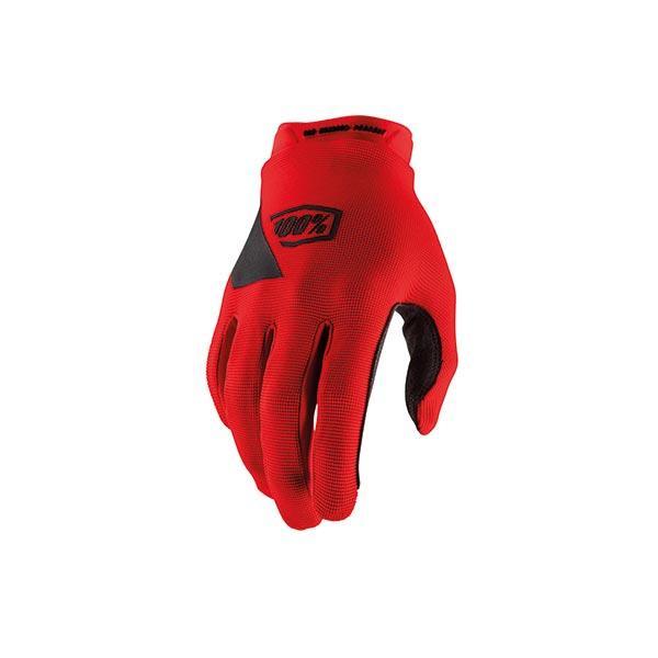 GUANTI 100% RIDECAMP RED (XXL) MOTO CROSS ENDURO TRIAL MTB