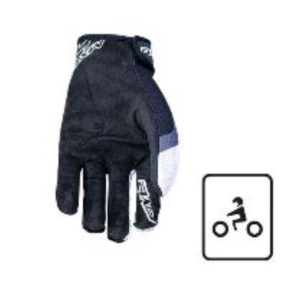 GUANT I MOTO TRIAL CROSS OFFROAD MTB FIVE MXF4 WHITE (XXXL)