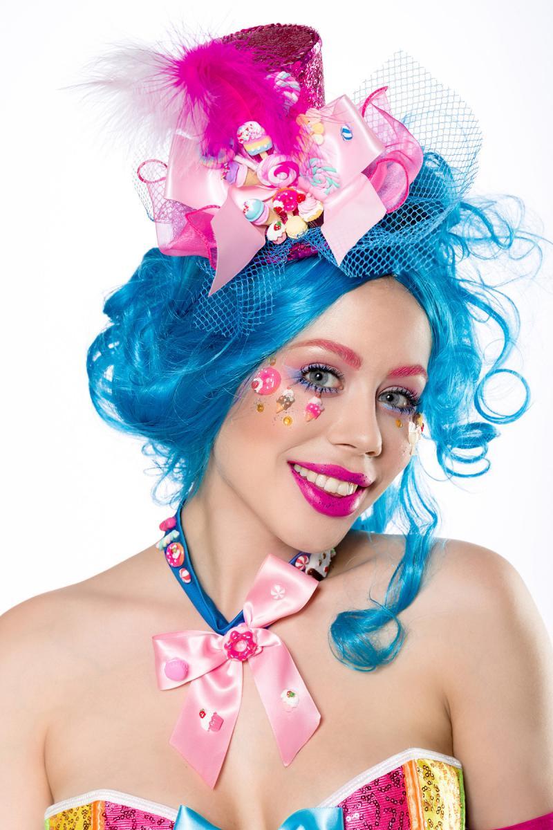 Costume Carnevale Donna Clown Pagliaccio Travestimento ...