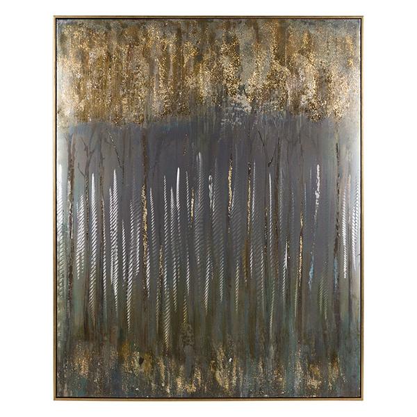 Quadro a Olio Abstract (80 x 4 x 100 cm)