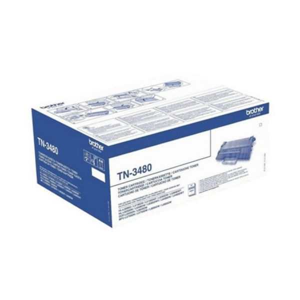 Toner Originale Brother TN3480 Nero