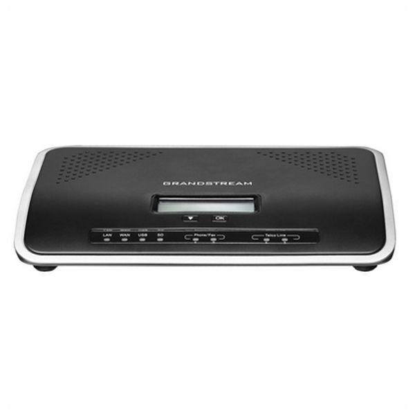Centralino VOIP Grandstream UCM6202 2FXS 2FXO USB SD Nero