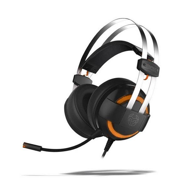 Auricolari con Microfono Gaming KROM Kode 7.1 Virtual NXKROMKDE