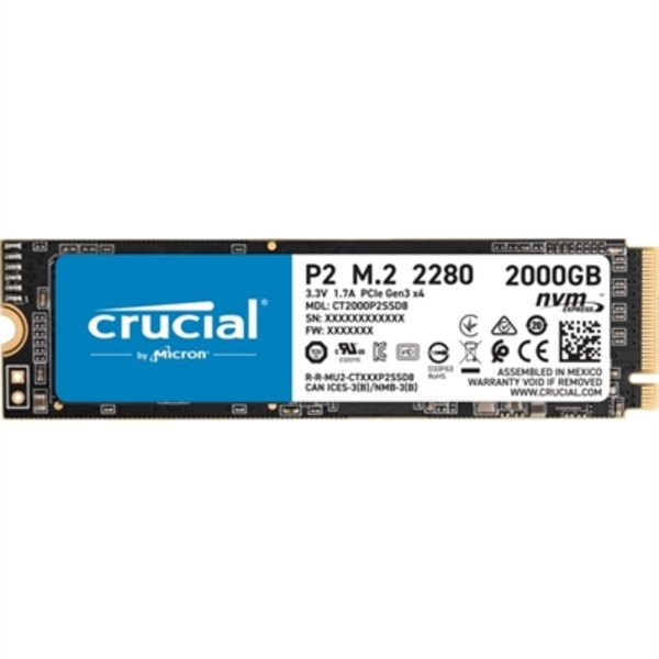 Hard Disk Crucial P2 SSD 2 TB M.2