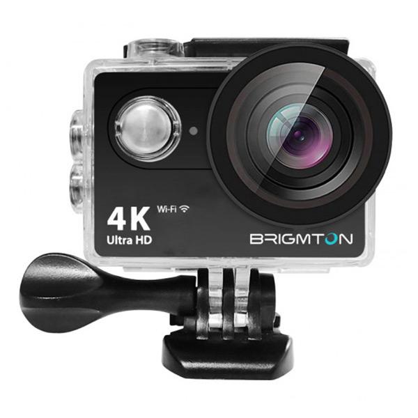 Fotocamera Sportiva BRIGMTON BSC-10-HD4K Wifi Nero