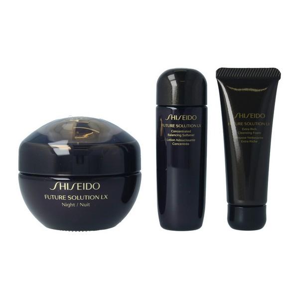 Cofanetto Cosmetica Donna Future Solution Lx Night Shiseido (3 uds)