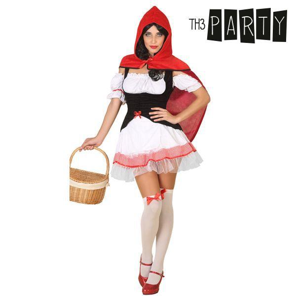 Costume per Adulti Th3 Party Cappuccetto rosso sexy Taglia:XL S1100240