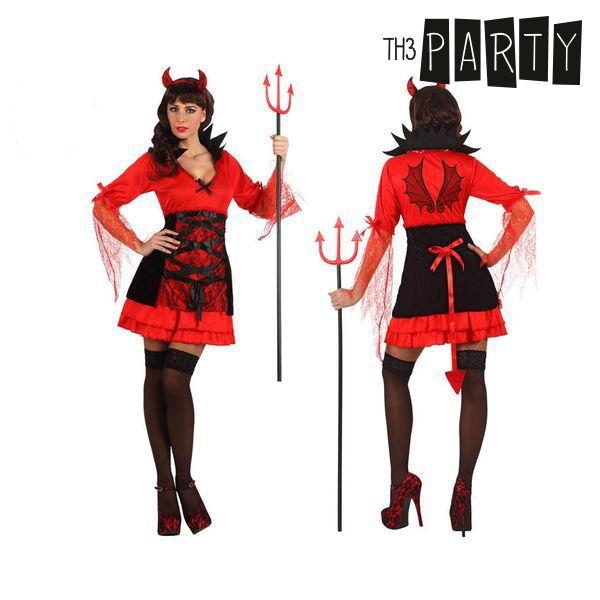 Costume per Adulti Th3 Party Demonio donna sexy Taglia:M/L S1100638