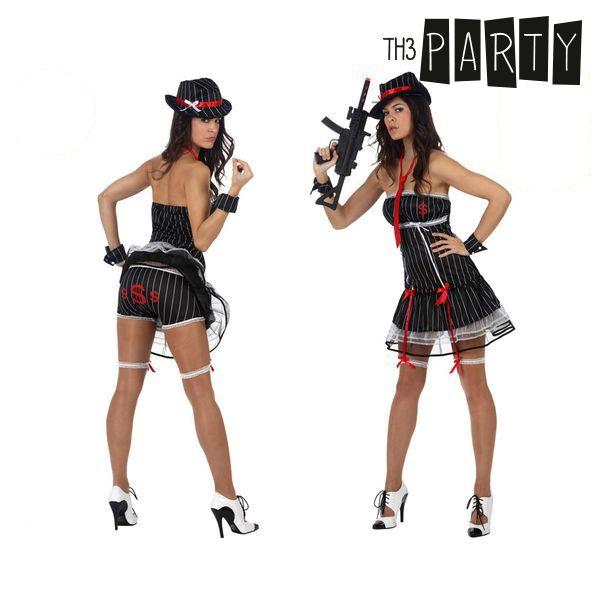 Costume per Adulti Th3 Party Gangster sexy Taglia:XS/S S1100700