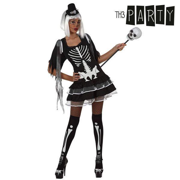 Costume per Adulti Th3 Party Scheletro sexy Taglia:XS/S S1100731