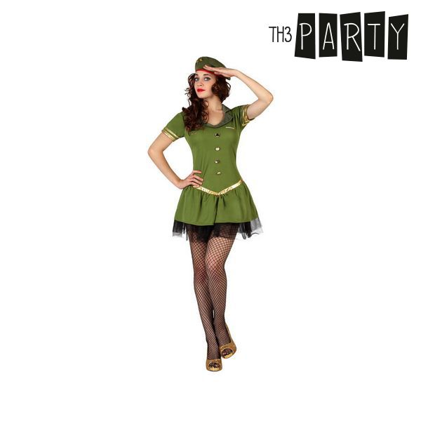 Costume per Adulti Th3 Party Militare sexy Taglia:XS/S S1102790