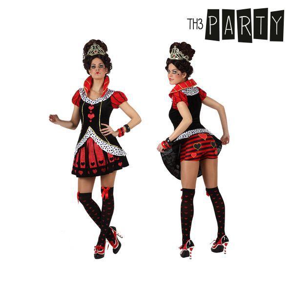 Costume per Adulti Th3 Party Regina di cuori Infermiera sexy Taglia:XS/S S11030