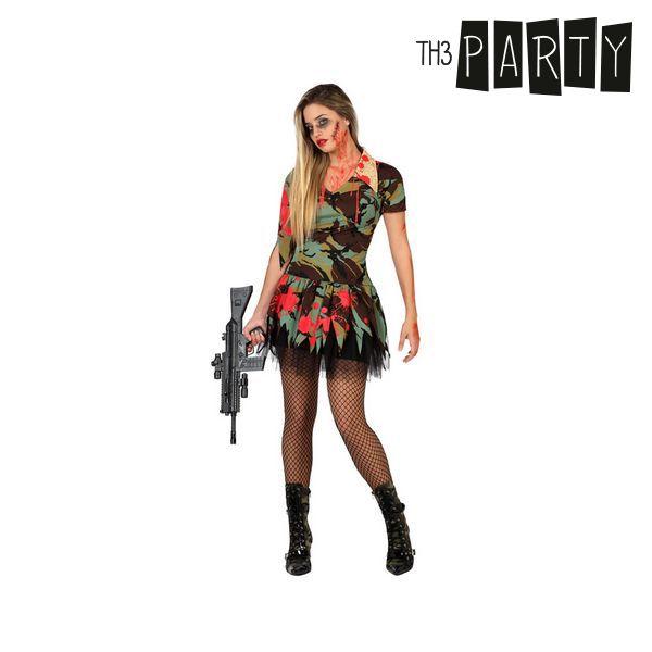 Costume per Adulti Th3 Party Militare zombie sexy Taglia:M/L S1103081