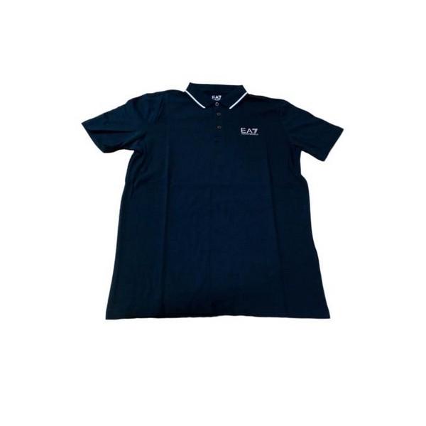 Polo a Maniche Corte Uomo Armani Jeans 3GPF51 Blu marino Taglia:L