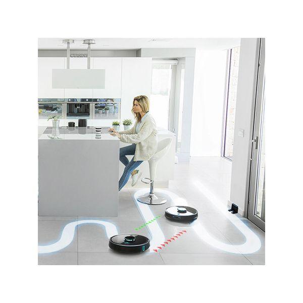 Robot Aspirapolvere Cecotec Conga 7090 IA 10000 PA Wifi 6400 mAh Nero
