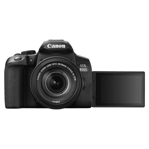 Canon Fotocamera reflex EOS850D+EF-S18-55mmISSTM Fotocamera reflex Canon EOS 850D + EF-S 18-55mm IS STM 3925C002