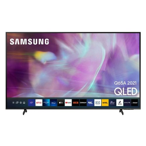 Samsung Televisore TVQLED4K2021 Televisore Samsung Q60A TV QLED 4K 2021 QE55Q60AAUXZT