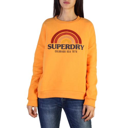 Felpe Superdry W2000031b Donna Arancione 103746