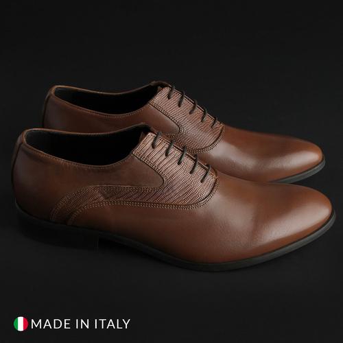 Scarpe-stringate-Made-in-Italia-JOACHIM-Uomo-Marrone-78299