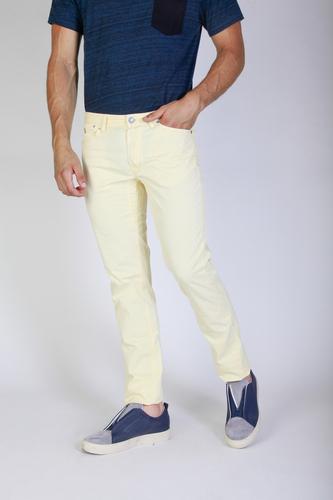 Pantaloni Jaggy J1883T812-Q1 Uomo Giallo 82288