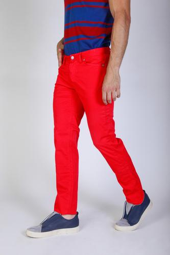 Pantaloni Jaggy J1883T812-Q1 Uomo Rosso 82290