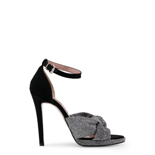 Paris-Hilton-Designer-Markenschuhe-Schuhe-Damen-Sandalette-Schwarz-Schuh