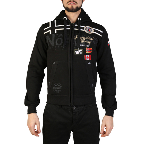 Geographical Norway Garadock_man Uomo Nero 97308Geographical Norway