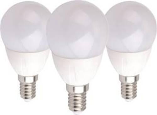 GBC Kit 3x Lampadine LED Mini Goccia E14 6W 3000°K Luce Calda
