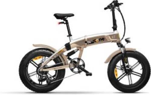 Icon.e Bici Elettrica Pieghevole iCross-X7 250W Titanium