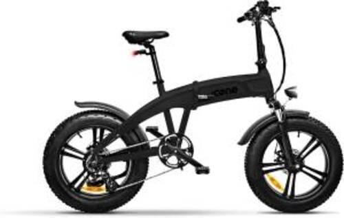 Icon.e Bici Elettrica Pieghevole iDesert-X5 250W Deep Black