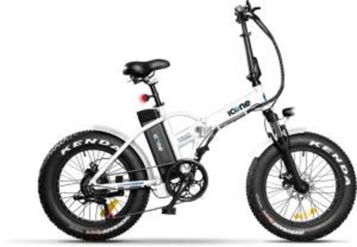 Icon.e Bici Elettrica Pieghevole E-Road Plus 250W Navy White S