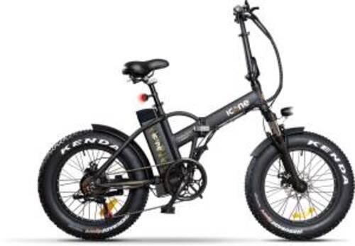 Icon.e Bici Elettrica Pieghevole E-Road Plus 250W Marines Black S