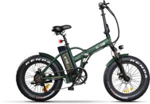 Icon.e Bici Elettrica Pieghevole E-Road Plus 250W Marines Green S