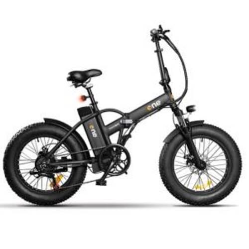 The ONE Bici Elettrica Rider 250W Black