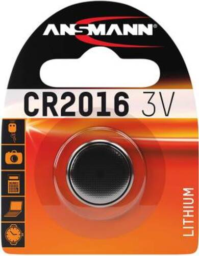 Ansmann Batteria a bottone CR2016/3V Lithium