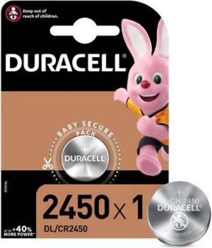 Duracell Lithium Batterie Bottone DL/CR2450 1pz