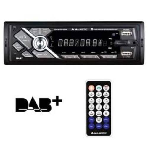 Majestic Autoradio Mechless DAB-444 BT/DAB/DAB+/RDS/2xUSB/AUX Nero