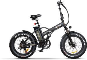 Icon.e Bici Elettrica Pieghevole AllRoad 250W Marine Black