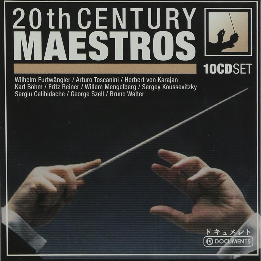 Audio Cd 20th Century Maestros (10 Cd) NUOVO SIGILLATO, EDIZIONE DEL 01/01/2012 SUBITO DISPONIBILE