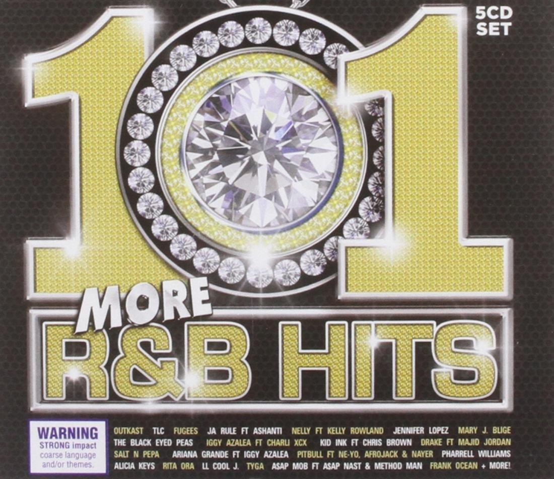 Audio Cd 101 More R&b Hits / Various (5 Cd) NUOVO SIGILLATO, EDIZIONE DEL 24/11/2014 SUBITO DISPONIBILE