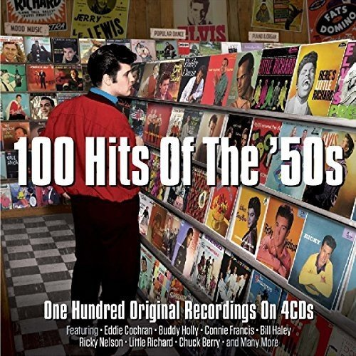 Audio Cd 100 Hits Of The '50s / Various (4 Cd) NUOVO SIGILLATO, EDIZIONE DEL 20/05/2016 SUBITO DISPONIBILE