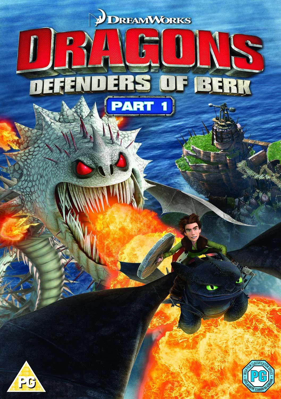 Dvd Dragons - Defenders Of Berk - Pt 1 [Edizione: Regno Unito] NUOVO SIGILLATO, EDIZIONE DEL 30/06/2014 SUBITO DISPONIBILE
