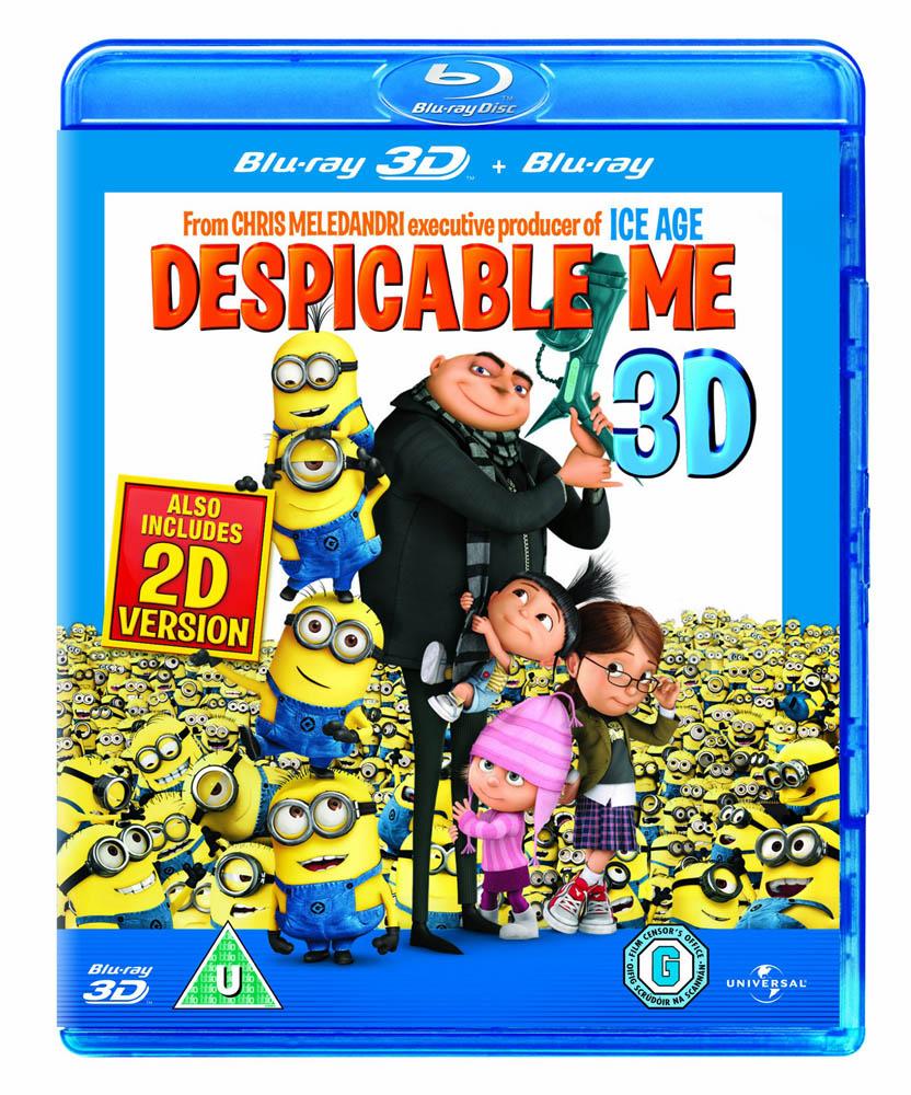 Blu-Ray Despicable Me (3D) [Edizione: Regno Unito] NUOVO SIGILLATO, EDIZIONE DEL 21/02/2011 SUBITO DISPONIBILE