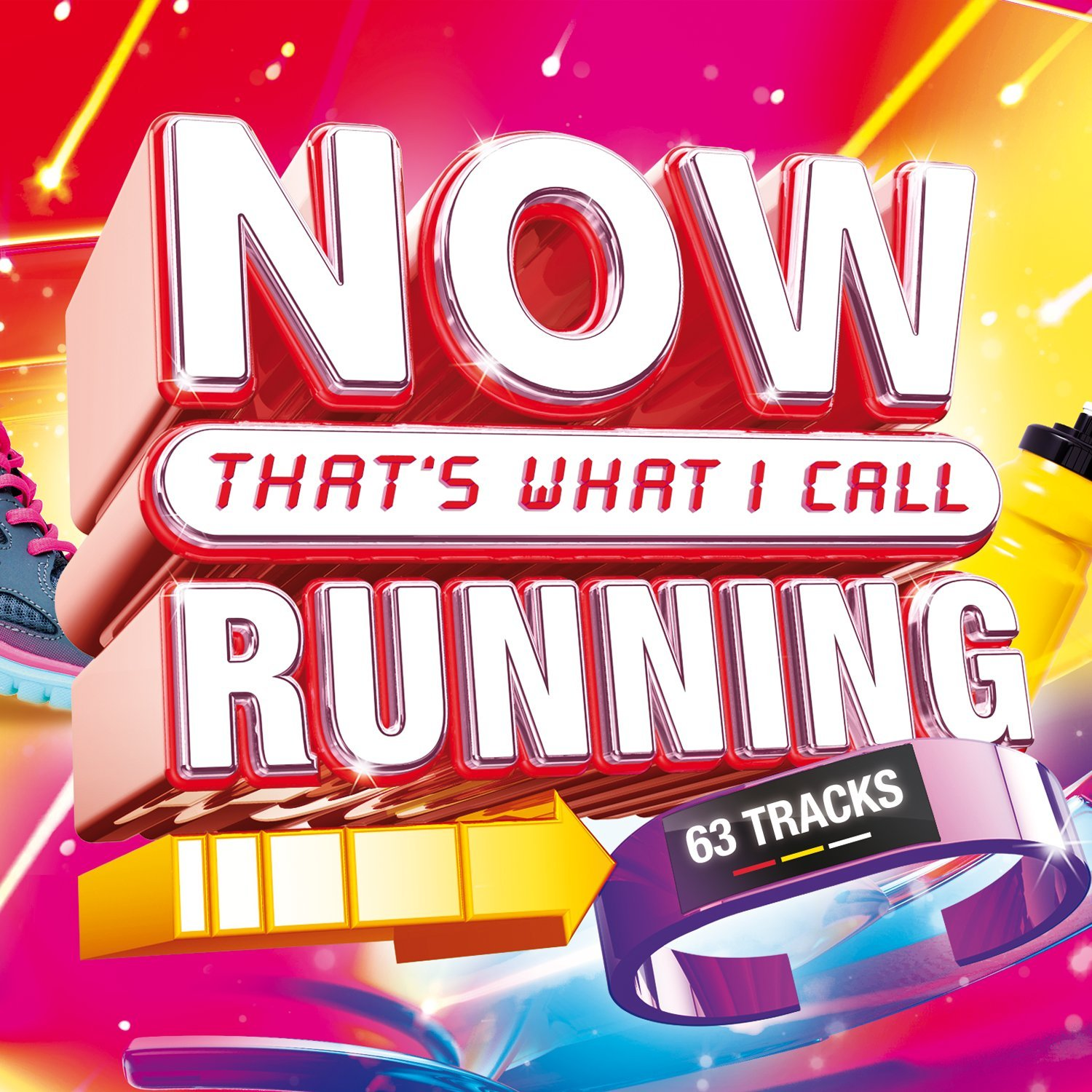 064007 Now Thats What I Call Running 2017 / Various (3 Cd) (CD)