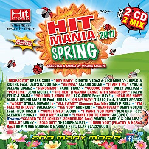 Audio Cd Hit Mania Spring 2017 (2 Cd) NUOVO SIGILLATO, EDIZIONE DEL 19/05/2017 SUBITO DISPONIBILE