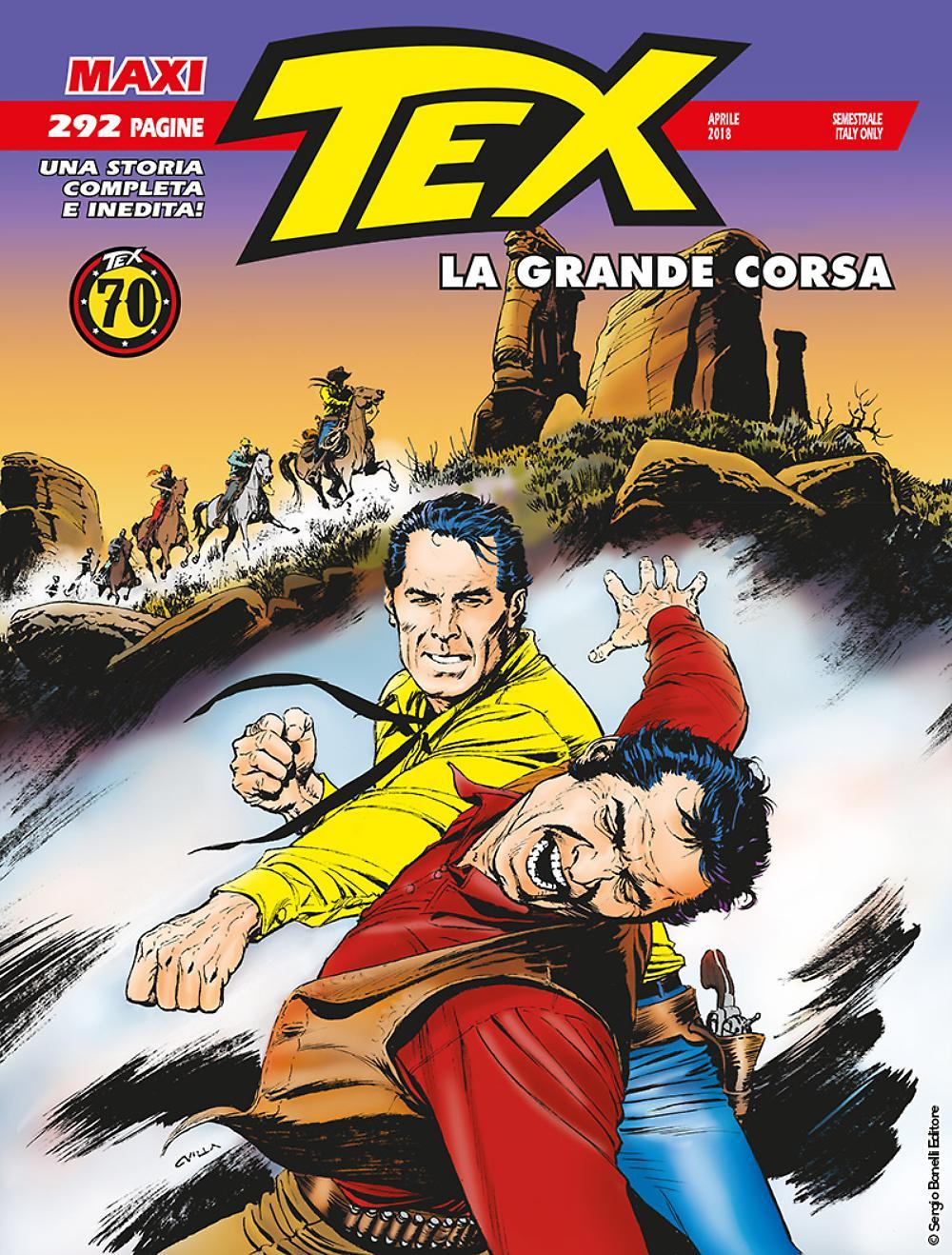 Libri Tex Maxi Vol 22 - La Grande Corsa NUOVO SIGILLATO, EDIZIONE DEL 03/05/2018 SUBITO DISPONIBILE